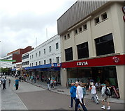 SX9163 : Costa and WHSmith, Torquay by Jaggery
