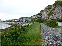 D0345 : Coastal path, Ballintoy by Kenneth  Allen