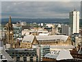 SJ8398 : Manchester Town Hall and Extension, Viewed from the Beetham Tower by David Dixon