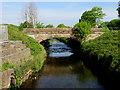 SJ3997 : Alder's Bridge over the River Alt by John S Turner