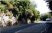 SX9364 : Southern boundary of Babbacombe by Jaggery