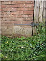 SJ8811 : OS benchmark - Stretton, School Farm by Richard Law