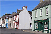NX4355 : North Main Street, Wigtown by Leslie Barrie