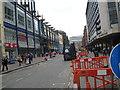 SP0786 : Corporation Street awaits-Birmingham by Martin Richard Phelan