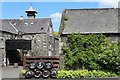 NX4254 : Bladnoch Distillery by Leslie Barrie