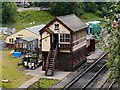 SD8010 : Bury South Junction Signal Box, East Lancashire Railway by David Dixon