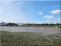 TM0321 : Rowhedge marina from Wivenhoe by Hamish Griffin