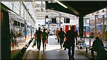 TQ3179 : Waterloo Station, Platforms 1/2 2006 by Ben Brooksbank