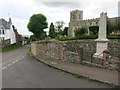 TL4238 : Great Chishill war memorial by Hugh Venables