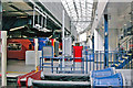 TQ3179 : Waterloo Station, buffers by Ben Brooksbank