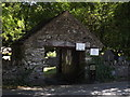 SH7956 : Ancient lych gate to St Michael's Church, Betws-y-Coed by Richard Hoare