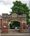 "NX9718 : ""Fire Brigade Station"" entrance by Jim Osley"