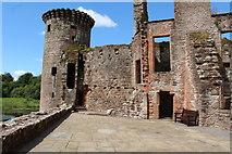 NY0265 : Caerlaverock Castle, The West Range by Billy McCrorie