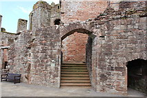 NY0265 : Caerlaverock Castle, The South Range by Billy McCrorie