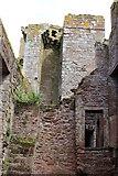 NY0265 : Caerlaverock Castle Interior by Billy McCrorie