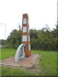 SO9596 : Bilston Sculpture by Gordon Griffiths