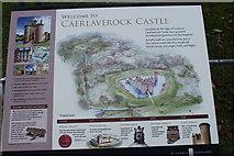 NY0265 : Caerlaverock Castle History by Billy McCrorie