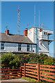 TA2570 : Coastguard Station,  Flamborough Head, Yorkshire by Christine Matthews