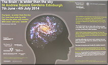 NT2574 : The Brain - is  wider than the sky by M J Richardson