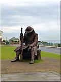 NZ4349 : 1101 - World War I memorial at Seaham by John Lucas