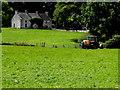 H3878 : Crop spraying, Glasmullagh by Kenneth  Allen