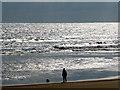 NZ5230 : Beside the sea by John Lucas