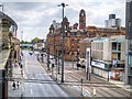 SJ8497 : London Road and the Old Fire Station by David Dixon