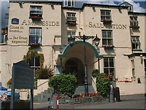 NY3704 : Ambleside Salutation Hotel by Steve Houldsworth