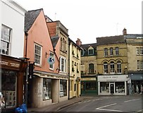 SP0202 : West Market Place Cirencester by Paul Best