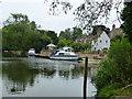 TL2970 : River cruisers in Hemingford Grey by Richard Humphrey