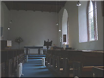 NY5619 : Interior, St Mary's Church, Little Strickland by Karl and Ali