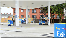 J3774 : New petrol station, Holywood Road, Belfast - July 2014(1) by Albert Bridge