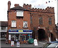 SO7193 : Former fire engine station and Northgate, Bridgnorth by Jaggery