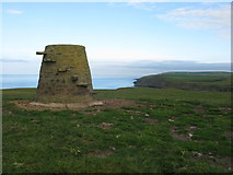 NX1430 : Kennedy's Cairn, Mull of Galloway by G Laird