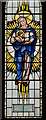 TR0739 : Detail of East Window, St Mary's church, Smeeth by Julian P Guffogg