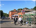 TL4601 : Commuter Time, Epping Station by Des Blenkinsopp