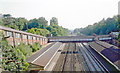 TQ0763 : Weybridge Station by Ben Brooksbank