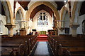 TQ8212 : Interior, St Helen's church, Ore by Julian P Guffogg
