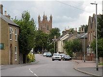 TL4568 : The High Street at Cottenham by Robert Edwards