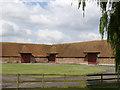 SU6285 : Barns at Ipsden Farm by Alan Murray-Rust