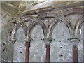 NT5931 : Chapter House wall by M J Richardson