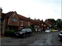 TQ0487 : C17 and C18 buildings, Denham by Bikeboy