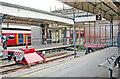 TQ2470 : Wimbledon Station, buffers of Platforms 2 and 3 (LUL) by Ben Brooksbank