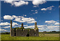 M4682 : Castles of Connacht: Island, Mayo (1) by Mike Searle