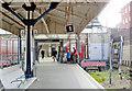 TQ2470 : Wimbledon Station, exit from LUL Platforms 1/2 by Ben Brooksbank