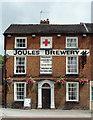 SJ6734 : Joule's Brewery Tap in Market Drayton by Roger  Kidd