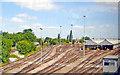 TQ2571 : Wimbledon Train-care Depot by Ben Brooksbank