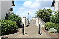 NS3138 : Lane from Gottries Road to Harbour Street, Irvine by Billy McCrorie