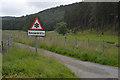 NH7524 : Unusual sign? by Nigel Brown