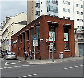 ST1876 : Burger King in Cardiff city centre by Jaggery